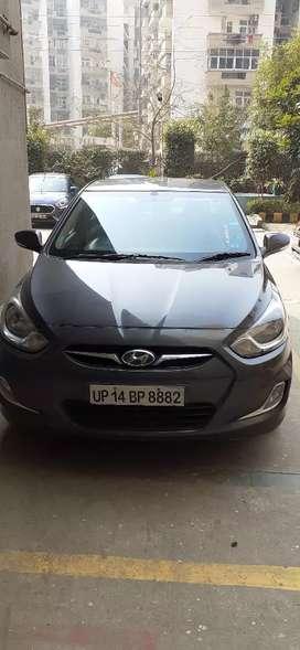Hyundai verna  2012 diesal single hand drive
