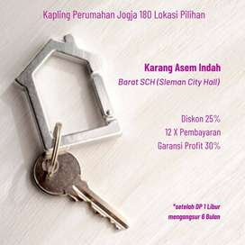 Kapling SHM Lokasi Kota Sleman, Dekat PEMDA Sleman, BIG DEAL 25%