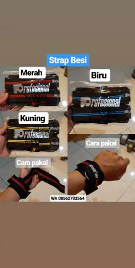 Strap Besi Tali. Aksesoris Fitness Palembang