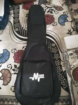 Non-padded Guitar Bag, with headstock cover, strap, and some plectrums
