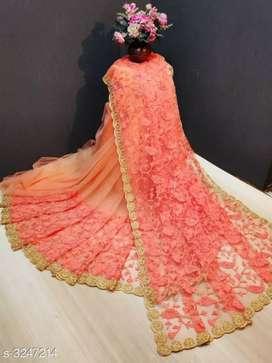 Myra Beautiful Net Sarees