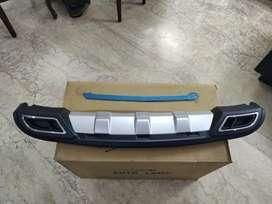 Verna fluidic rear bumper Diffuser with chrome