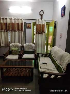 Sagon wooden bastar art sofa set