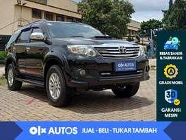 [OLX Autos] Toyota Fortuner 2.7 G Luxury Bensin A/T 2013 Hitam