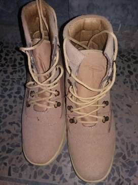 ARMY STYLE SHOES JOGGER 44 NO CAMEL COLOUR