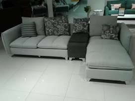 Lavinia sectional sofa grey