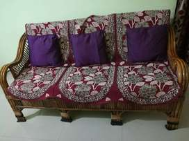 Wooden Sofa set 3 +1+1