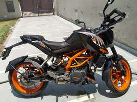 2016 KTM Duke 390 for Rs 1,04,000  excellent condition Haryana 26 Regn