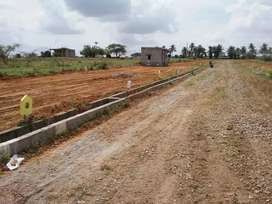 Residential Plot for sale: Clear documents n DC approval at Attibele