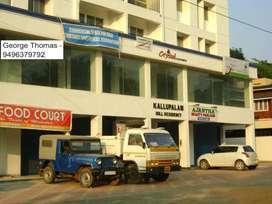 Kottayam Chalukunnu 550 sq.ft commercial for shop/Office for rent