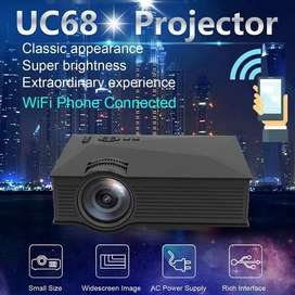 UNIC Portable LED Projector UC68 1800 Lumens