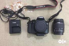 Cannon 1300d DSLR Camera in new condition
