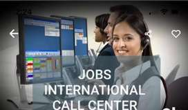 Required male female candidate for international call center