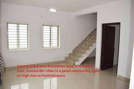 3bhk individual villa for sale@kozhinjampara