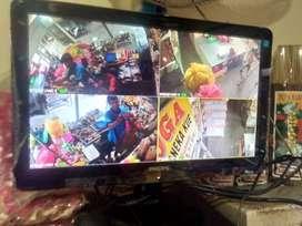 Kamera Hikvision 2 channel beningg gan