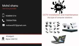 Cctv and complete computer solution