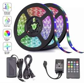 New Remote LED Strip Lights RBG Cash on delivery all over Pakistan