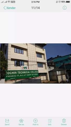 Cochin Techical college azad road Kaloor teaching vacancy