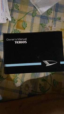 Buku manual mobil all new jazz, fortuner, terios, yaris