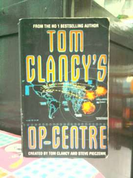Novel Tom Clancy's op - centre ( by . Tom Clancy & Steve Pieczenik )