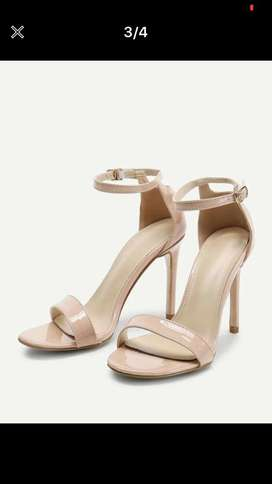 Nude heels from shein