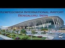 Opening ground staff/Ticketing/Accountant in Bengaluru Airport