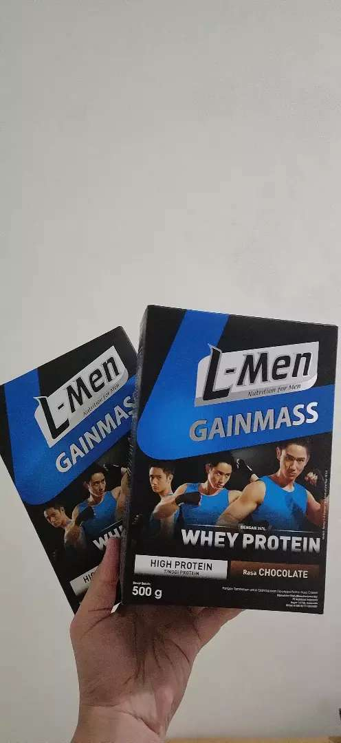 L-Men Gain Mass Chocolate 500gr 0