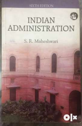 Book:Indian Administration by S.R Maheshwari