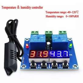 Humidity and temperature controller XH M452