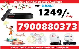 DTH Festival Sale All over india Airtel Tatasky