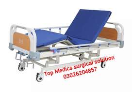 Manual patient Bed Excellent quality single Crank Operat Bed new