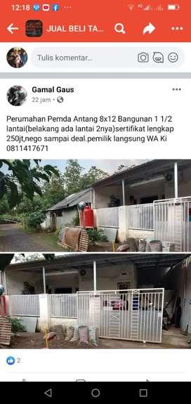 Rumah komersil seharga rumah subsidi.