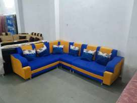 Brand new corner sofa sets with pillow