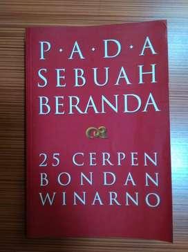 DIJUAL BUKU BERJUDUL :  PADA SEBUAH BERANDA, KARYA BONDA WINARNO