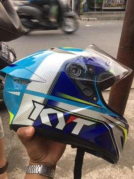 KYT TT Course Grand Prix Sky Blue