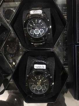 Jam tangan original digitec full stanlies dualtime fullset