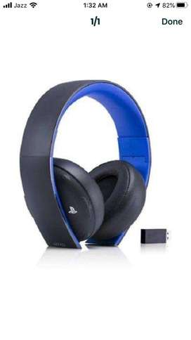 Wireless Headphone For Ps4 /Pc