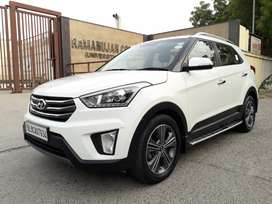 Hyundai Creta 2017 Petrol 26000 Km Driven with service records.