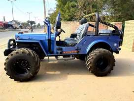 Open Modified Hunter Jeeps on order from punjab all India delivery