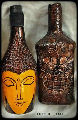Bottle art (gift bottles and home decor bottles)