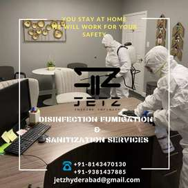 Disinfection fumigation and sanitization services