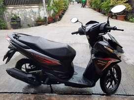 Honda Vario 125 CBS hitam