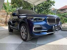 BMW X5 40i Xdrive 2021 Phytonic Blue Km 3rb (sudah 3 Row Seat)