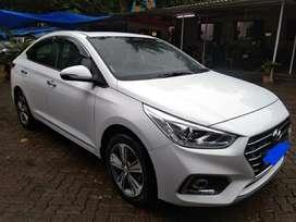 Hyundai Verna Fluidic 1.6 CRDi SX Opt AT, 2019, Diesel
