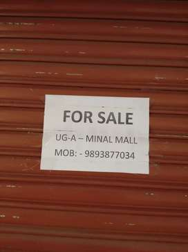 Shop for sale in minal shopping complex