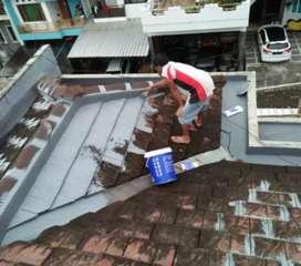Tukang atap bocor,dak,talang,dinding,bangunan,keramik,cat,kolam,plafon