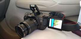 Canon camera eco 600 with big lens 300mm