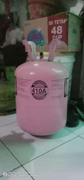 Dijual cepat FREON AC  410 A , tabung + isi sak Can kalong sithik Luur