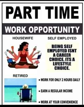 It's a great opportunity for bulid a part time income
