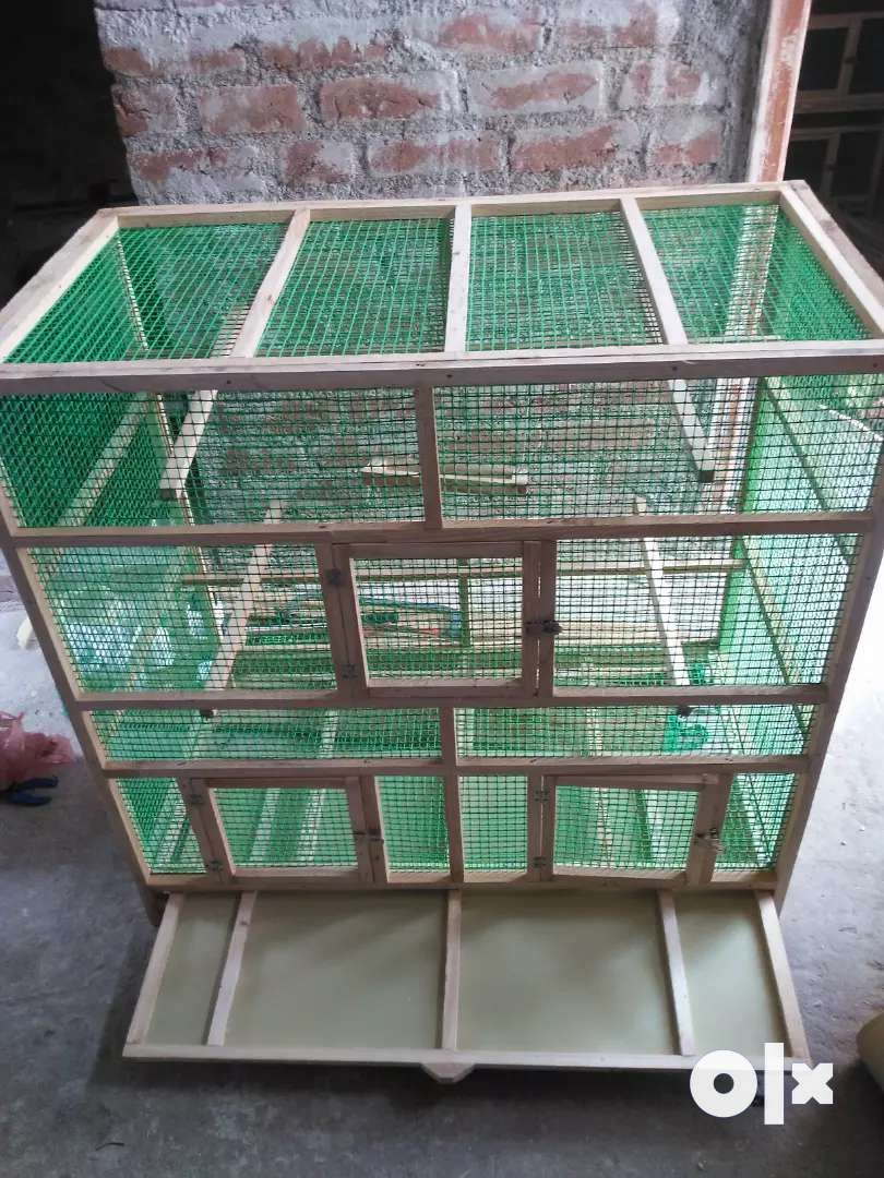 Wooden cage 0